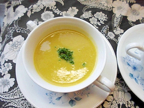 栗かぼちゃの 冷スープ