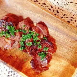 ラム肉の赤ワイン焼き