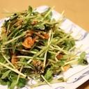中華料理の副菜はコレ!やみつき【豆苗キムチ和え】