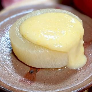 柚子味噌ふろふき大根☆