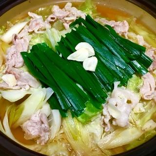 鶏ももと豚こま♪キャベツの甘味たっぷり鍋♡