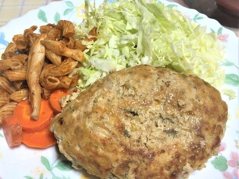 豚キムチハンバーグ