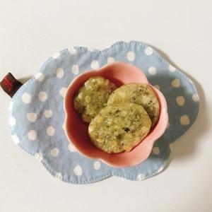 【離乳食後期】ひじきと豆腐のおやき