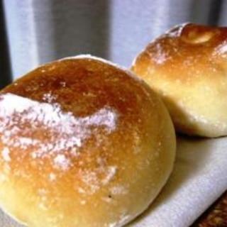 オーバーナイト発酵☆のんびりつくる基本の丸パン