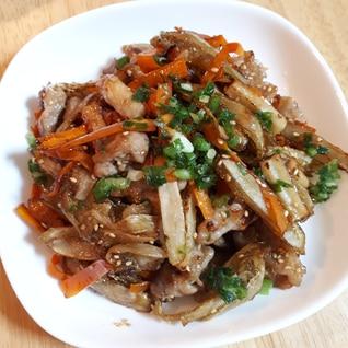 ごぼうで主菜!調味料は麺つゆだけ節約&お手軽おかず