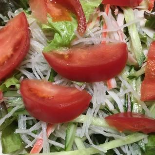 トマトと大根のサラダ