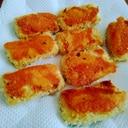 高野豆腐のチーズカリカリ