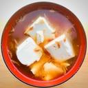 蟹汁〜豆腐とオキアミの蟹汁