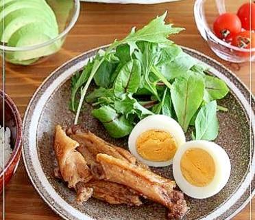 鶏手羽中のさっぱり煮