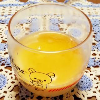 卵黄で豆乳プリン