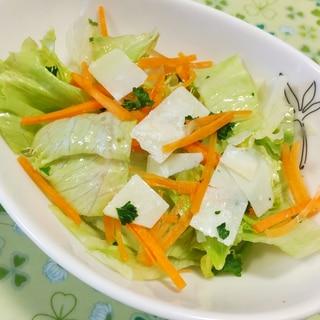 パルミジャーノレッジャーノのレタスサラダ