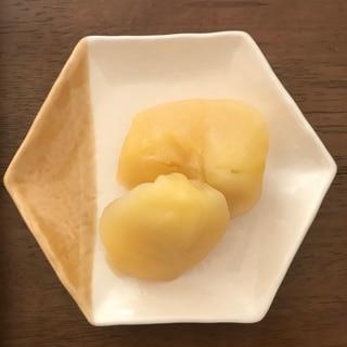 りんご コンポート 電気圧力鍋の無水料理