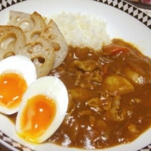 シャキシャキ食感☆レンコンのカレーライス
