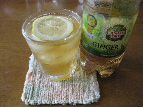 【カナダドライ】ジンジャーとウイスキーでカクテル