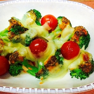 ♡ホットサラダ♡ブロッコリーのオーロラソース