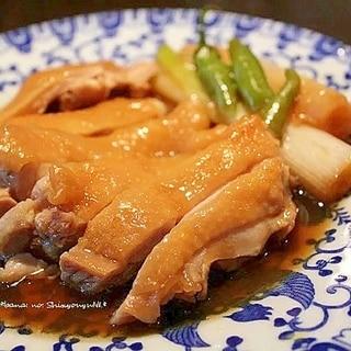 鶏と長葱のしょうゆ煮