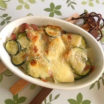 じゃがいももズッキーニも薄切りで食べやすく柔らかく、美味しかったです。 またリピートしたいです!