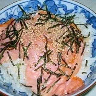 レンジで簡単♪鮭ご飯