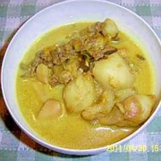 低糖質ダイエッターのカレー「菊芋カレースープ」