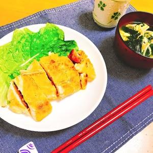 【糖質制限】超簡単♡パリパリチキンステーキ♡