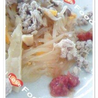 炊飯器で作るノンオイル&低カロリー春雨