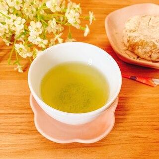 1人分の美味しい緑茶の淹れ方withみかん