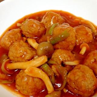 子どもが喜ぶ☆肉団子のケチャップ煮