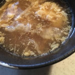 洗い物ナシ!超簡単ふわとろ卵スープ