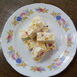 ホワイトマシュマロチョコバー