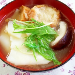 宮城の郷土料理!はっと汁(すいとん、だこ汁)