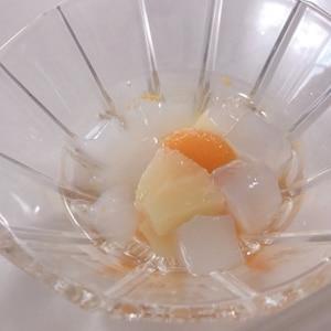 シロップも飲んじゃえる!爽やかフルーツポンチ