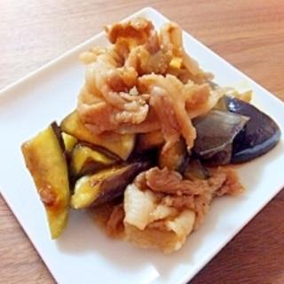 豚肉と茄子のサムジャン炒め