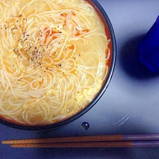 夏バテにはこれ!!酸辣素麺(サンラーソウメン)