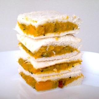 お弁当に!おやつに!かぼちゃのサンドイッチ