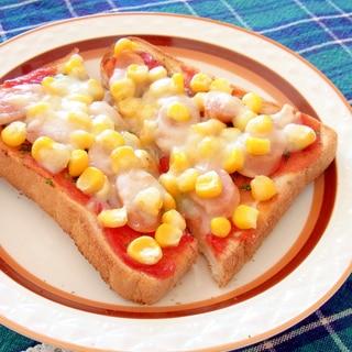 コーンピザトースト