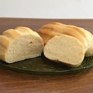 余ったキューブの粉ミルクでふわふわミルクパン