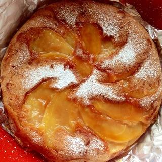 炊飯器でりんごケーキ 砂糖、牛乳、卵不使用