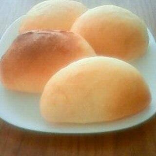 手作りカスタードでクリームパン