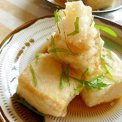 ~夏の揚げ出し豆腐~