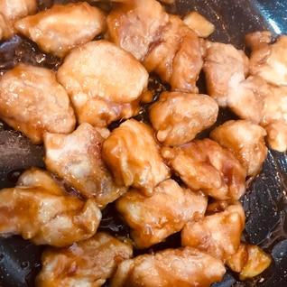 ご飯が進む!鶏肉の甘辛炒め