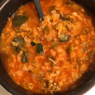 作り置きで万能♪脂肪燃焼『トマトスープ』