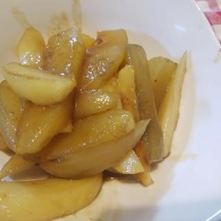 1,2,3♪ヤーコンとジャガイモの甘辛炒め