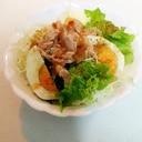 ゆで卵とツナのイタリアンサラダ