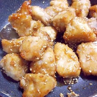 かんたん酢で胸肉の甘酢焼き