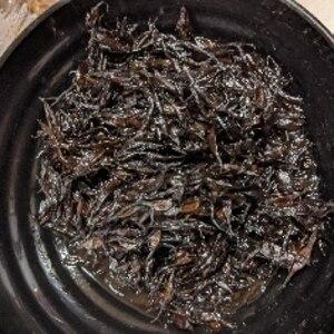 普通のひじきの煮物