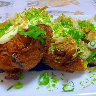 がんも★塩豆腐に大入り!たこ焼き材料と常備菜ひじき