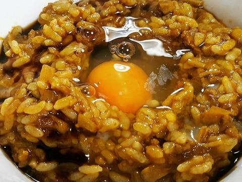 卵のまろやかさが美味しい大阪風混ぜカレー