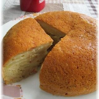 HMで簡単!炊飯器でりんごのケーキ☆