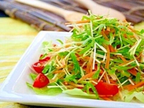 夏の旬野菜サラダ
