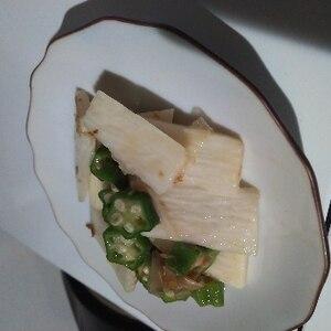 和食☆オクラと長芋のシャキシャキサラダ
